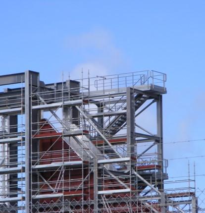 Andamio industrial estructura