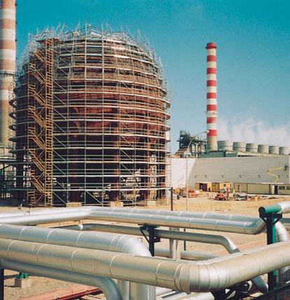 Andamios industriales petroquímica
