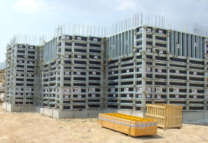 Encofrado modular muro