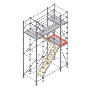 Montaje de plataformas metalicas