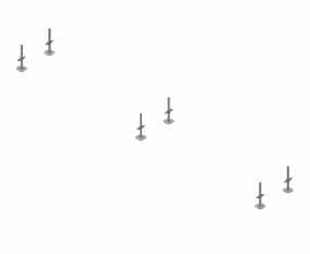 Niveladores base sobre superficie plana