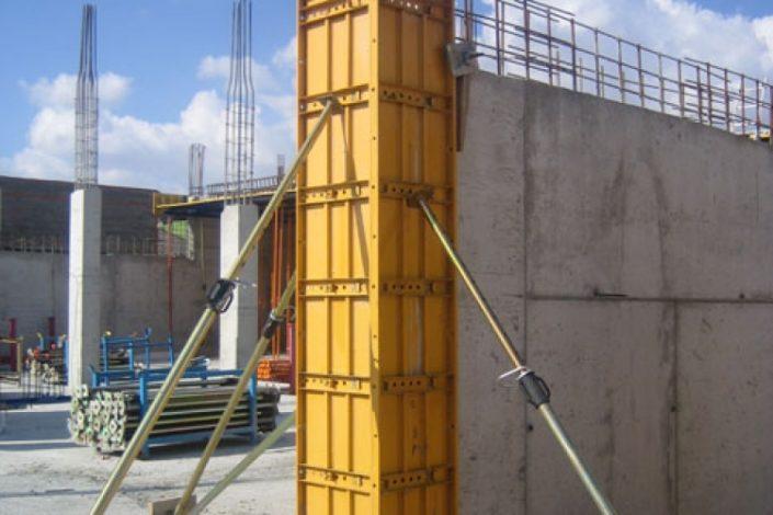 placas encofrado de pilares