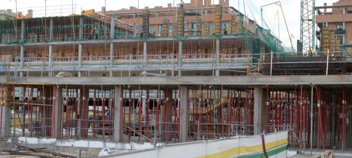 puntales construcción