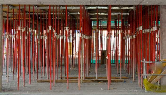 puntales metálicos para construcción