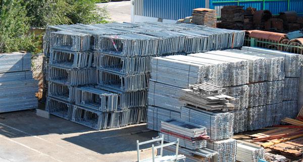 Venta andamios usados materiales de construcci n para la - Precio de andamios ...