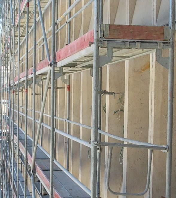 Alquiler de andamios para fachadas