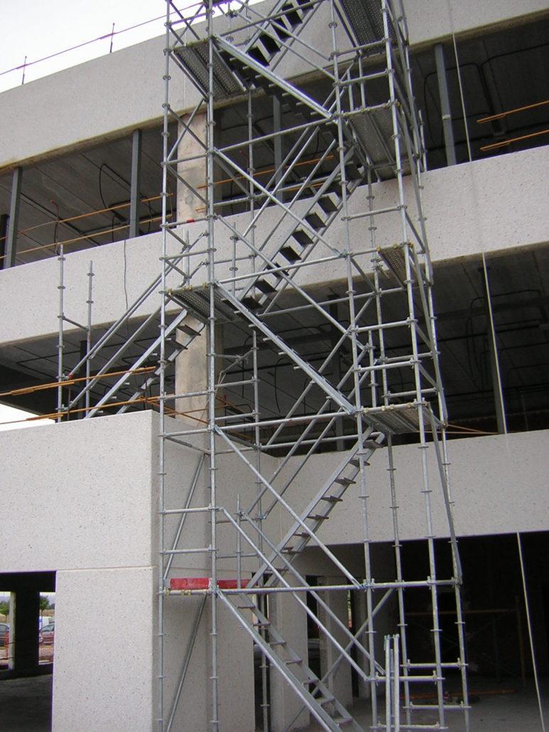 escalera de andamios