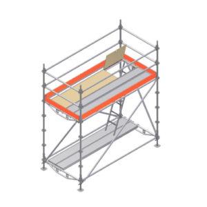 barras de protección torres de andamio