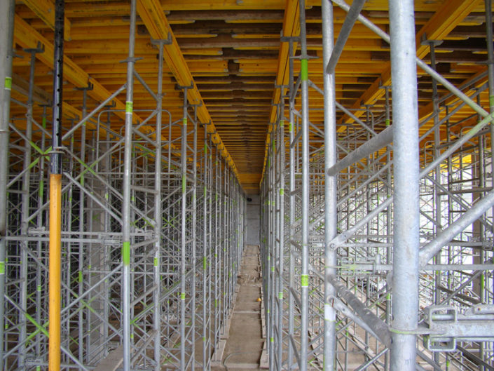 cimbras estructura andamio