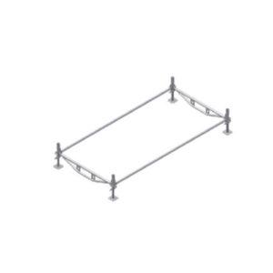 Colocación de barras horizontales de nivel terreno