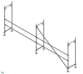 Colocación barras y diagonales