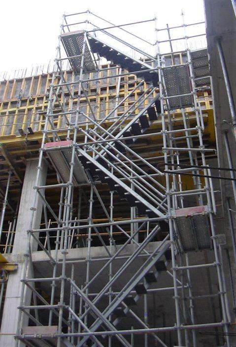 Escalera de acceso para andamio