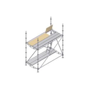 Montaje de las barras de protección y rodapiés
