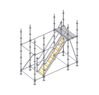Montaje de diagonales y plataformas
